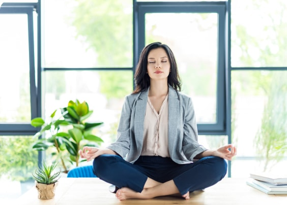 Uredska yoga